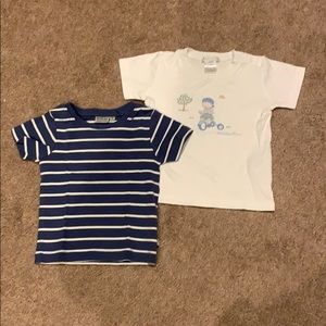 Adorable set of t-shirts, size 18 mo